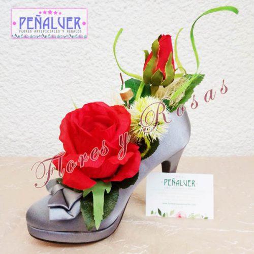 Zapatos con flores. Regalos originales RF00646